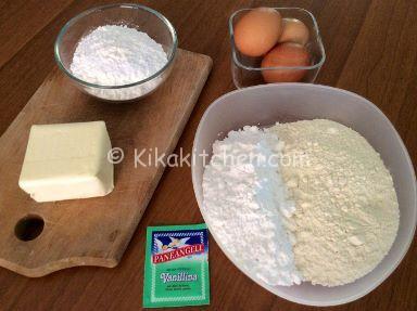 ingredienti pasta frolla con tuorli sodi