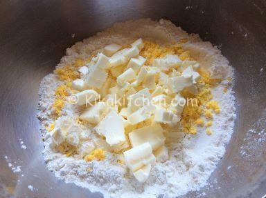ricetta pasta frolla con tuorli sodi