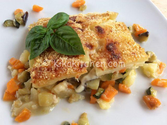 ricetta patate zucchine melanzane al forno