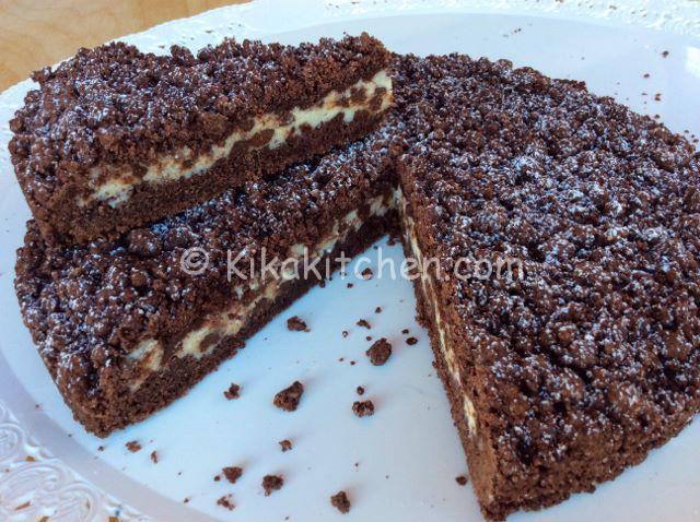 Sbriciolata Al Cacao Con Ricotta E Gocce Di Cioccolato Kikakitchen