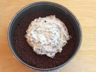 sbricolata al cacao con ricotta fresca