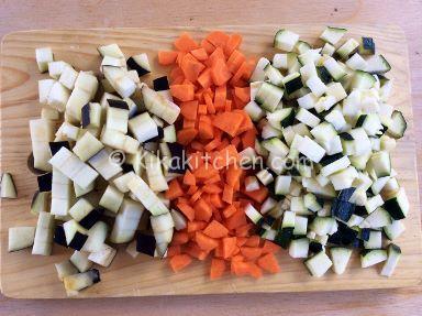verdure a dadini