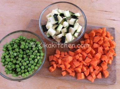 verdure per frittata