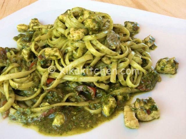 Pasta Con Pesto E Pesce Spada Ricetta Facile Kikakitchen