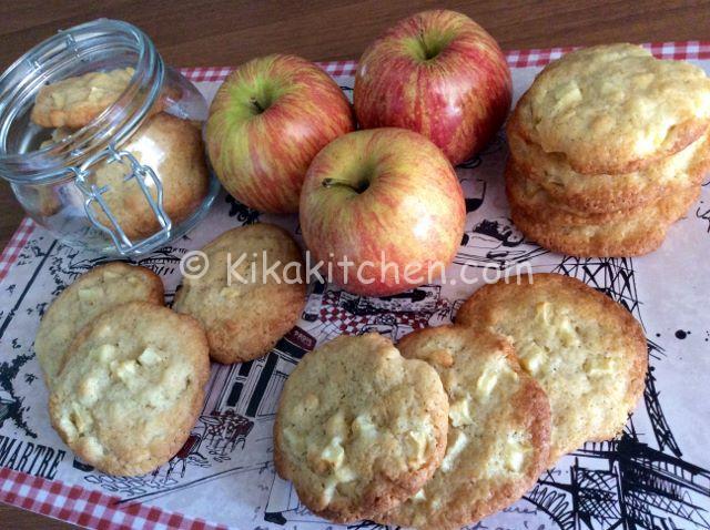 cookies mela e cannella