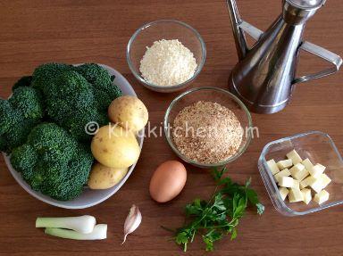 ingredienti polpette di melanzane