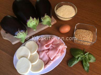 ingredienti sformato di melanzane