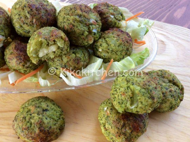 polpette broccoli e patate