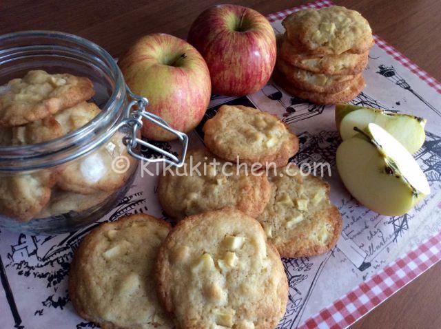 Biscotti mela e cannella. Ricetta passo passo