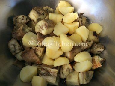 sformato di melanzane e patate