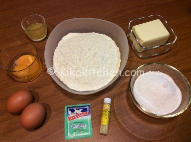 ingredienti secondo impasto