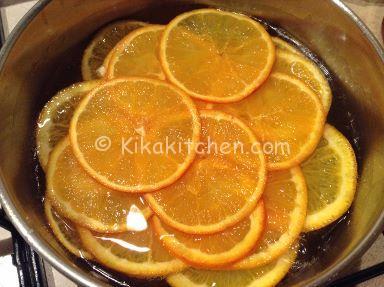 caramellare la frutta