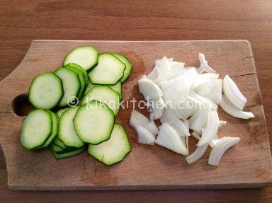 cipolla e zucchine