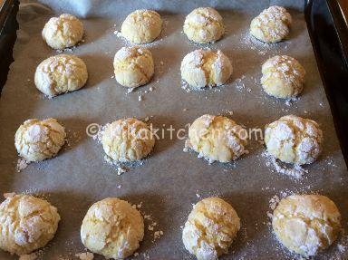 cottura biscotti morbidi all'arancia