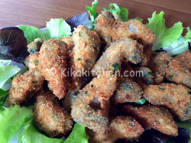 cuori di carciofi impanati ricetta