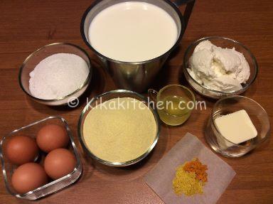 ingredienti migliaccio