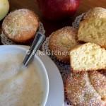 Muffin alle mele alti e soffici. Ricetta passo passo