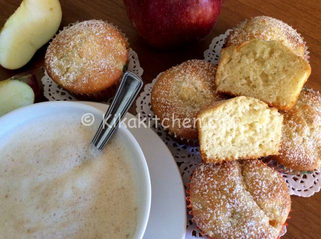 muffin alle mele ricetta
