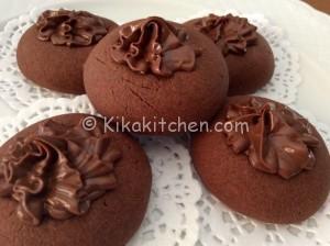 Nutellotti (biscotti con pasta frolla alla nutella)