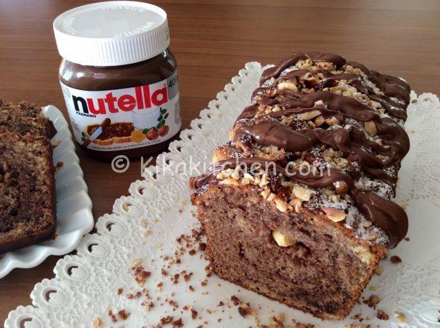 Plumcake nutella e nocciole