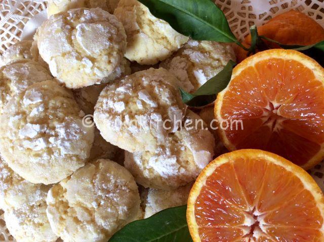 ricetta biscotti morbidi all'arancia