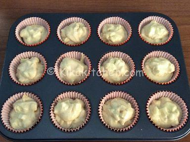 ricetta muffin alle mele