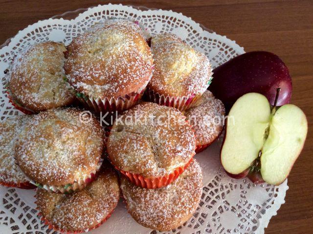 ricetta muffin mele