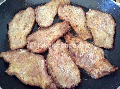 scaloppine di carne