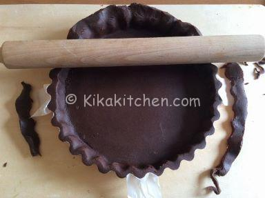 base crostata al cacao