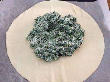 farcire sfoglia con ricotta e spinaci