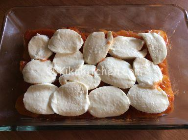 patate e mozzarella al forno