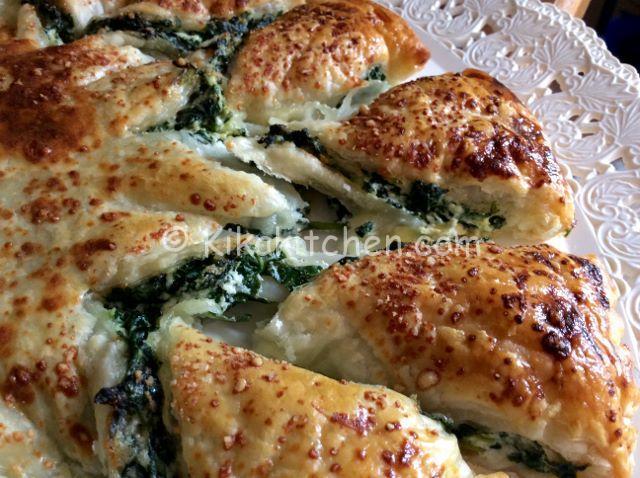 Sfoglia ricotta e spinaci (torta rustica)