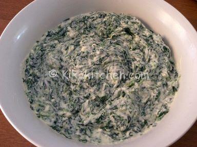 secondi con ricotta e spinaci