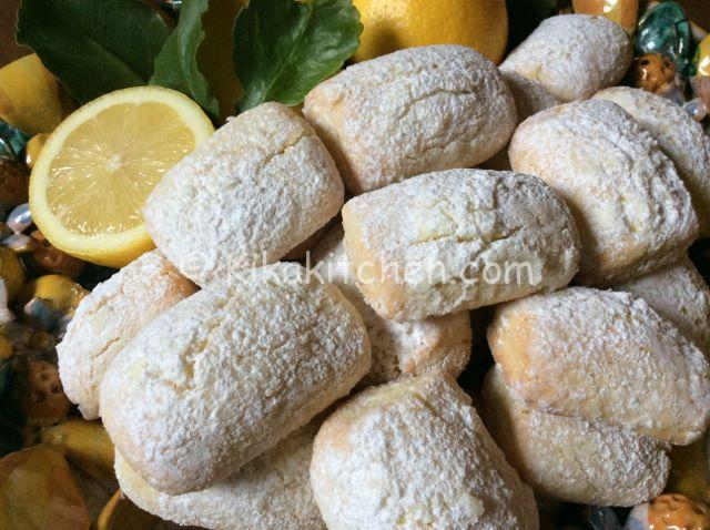biscotti morbidi al limone fragranti