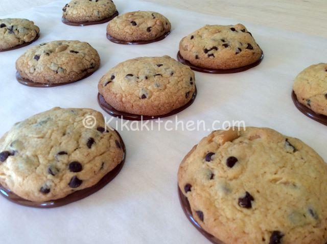 cookies americani cioccolato e arachidi ricetta