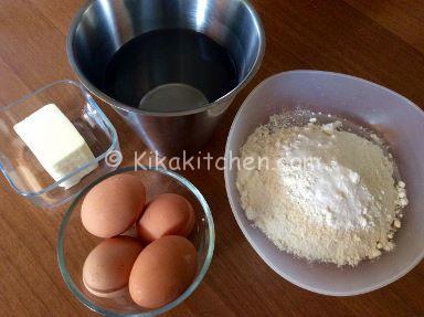 ingredienti pasta choux per bignè