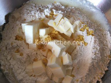 pasta frolla al limone ricetta