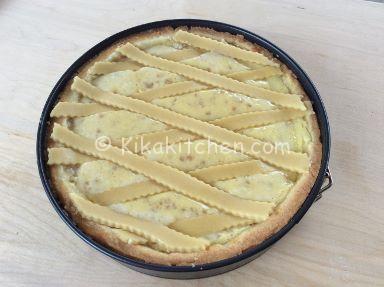 pastiera napoletana con grano