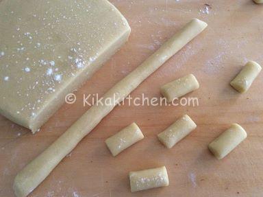 preparazione biscotti morbidi al limone