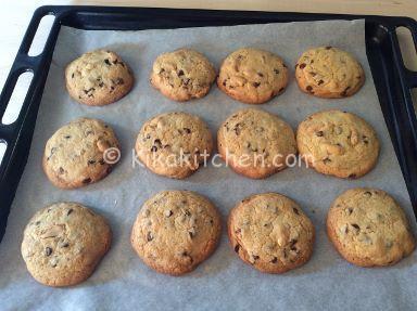 ricetta originale cookies americani arachidi