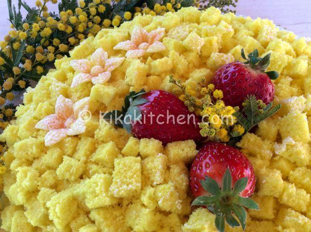torta mimosa fotoricetta