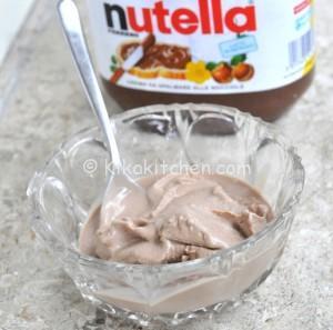 Gelato alla Nutella Bimby