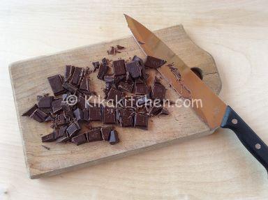 cioccolato fondente per torta fredda