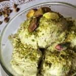 Gelato al pistacchio senza uova. Ricetta passo passo