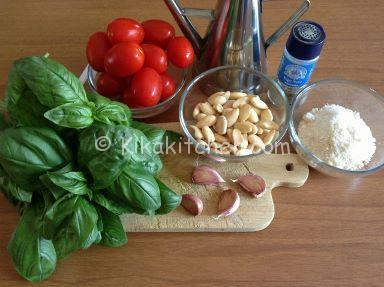 ingredienti pesto trapanese