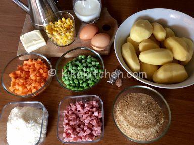 ingredienti polpette di verdure