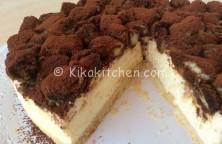 ricetta cheesecake tiramisù