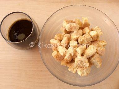 savoiardi e caffè