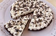 torta fredda cioccolato senza uova