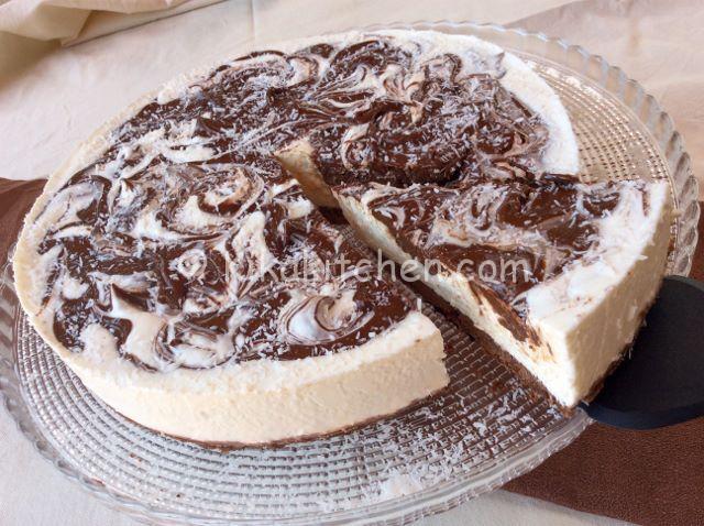 cheesecake cocco e nutella ricetta facile